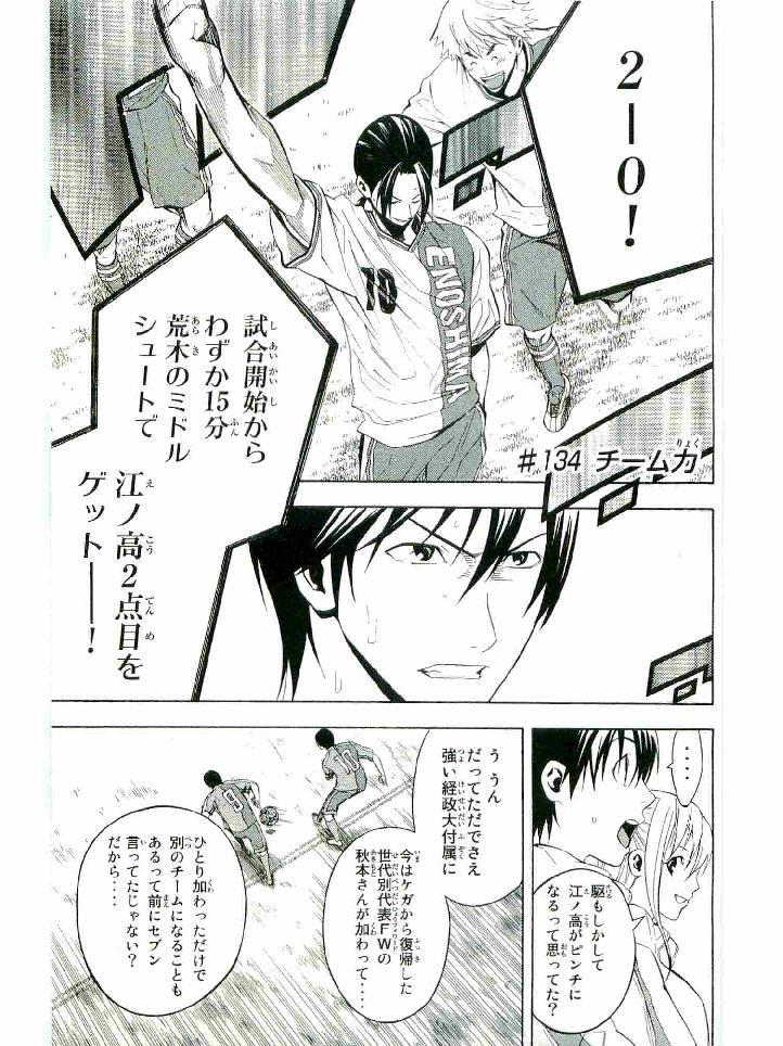 Area no Kishi - Chapter 134 - Page 1