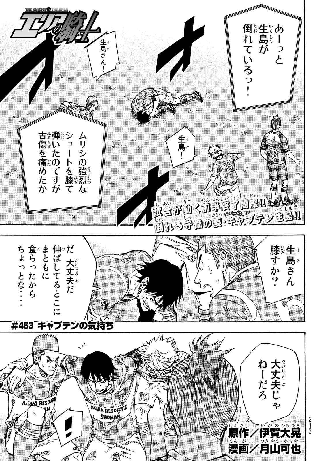 Area no Kishi - Chapter 463 - Page 1