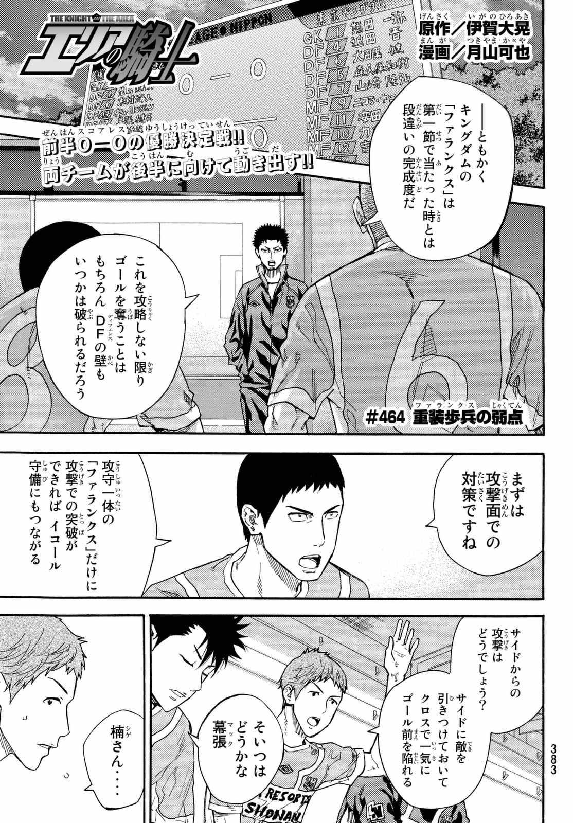Area no Kishi - Chapter 464 - Page 1